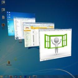 Управление окнами в Windows 7
